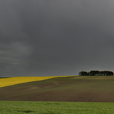 Stormclouds over the Wolds Wyham Top